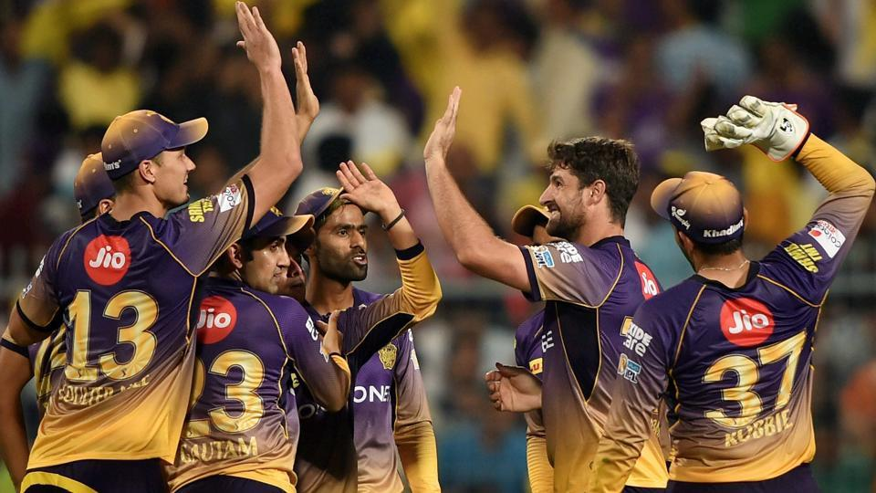 IPL 2017: Kolkata Knight Riders thrash Royal Challengers Bangalore by 82 runs.