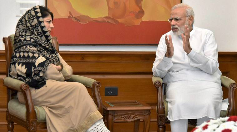 Mehbooba Mufti meets PM Narendra Modi, says no talks until stone-pelting, retaliation by security forces ends in J&K