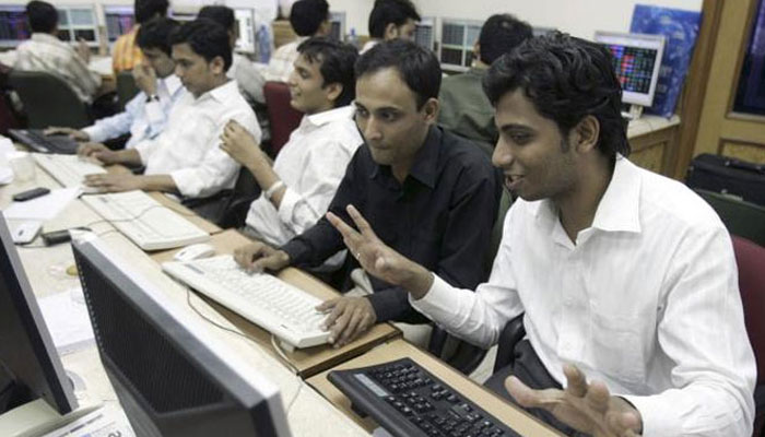 Nifty breaches 9,300-mark for the first time, Sensex up over 250 points