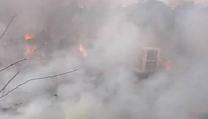 4 dead :Blast in Ghaziabad firecracker factory