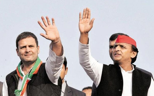 Congress ends alliance with Samajwadi Party, to contest UP local body polls on its own