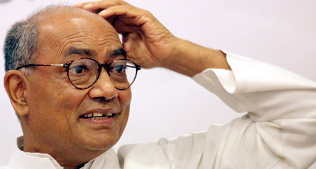 Telangana Police has set up fake ISIS website to radicalise Muslim youth: Digvijaya Singh