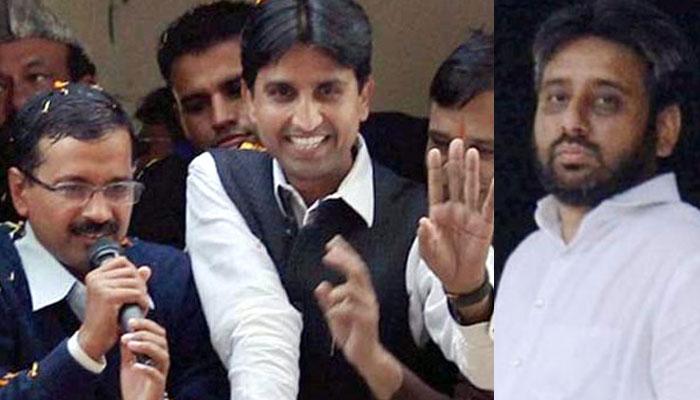 AAP crisis : Kumar Vishwas emerges winner, suspends Amanatullah