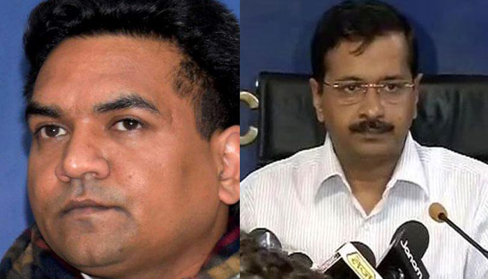 Kapil Mishra reaches CBI office to hand over evidence against AAP leaders.