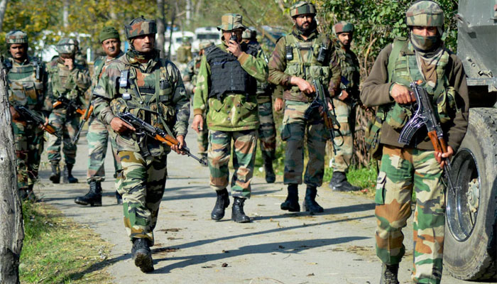 With over 1,000 security forces, major search operation launched in J&K