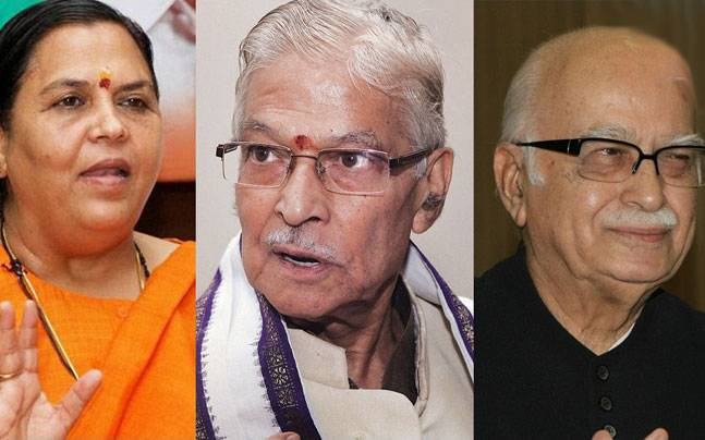 Babri Masjid demolition: CBI court to frame charges against LK Advani, Joshi, Uma Bharti today