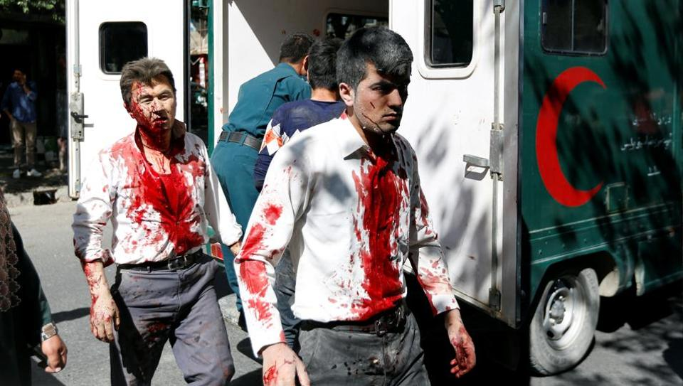 Blast near embassies in Kabul, 15 killed and injured; Sushma Swaraj says Indian officials safe