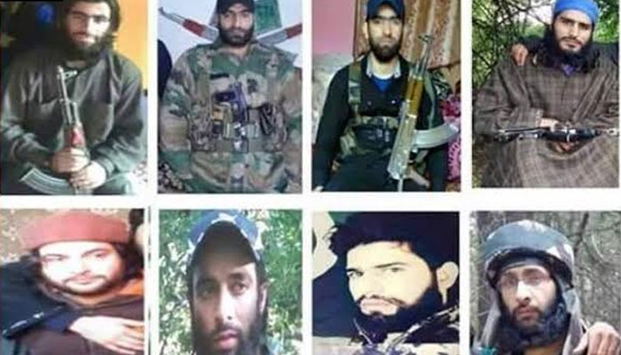 After Burhan Wani, Sabzar Bhatt, Indian Army has released a list of 12 most-wanted terrorists