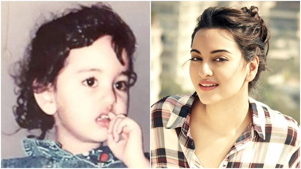 Happy Birthday Sonakshi Sinha: Check out these delightful childhood pics of the Sonakshi