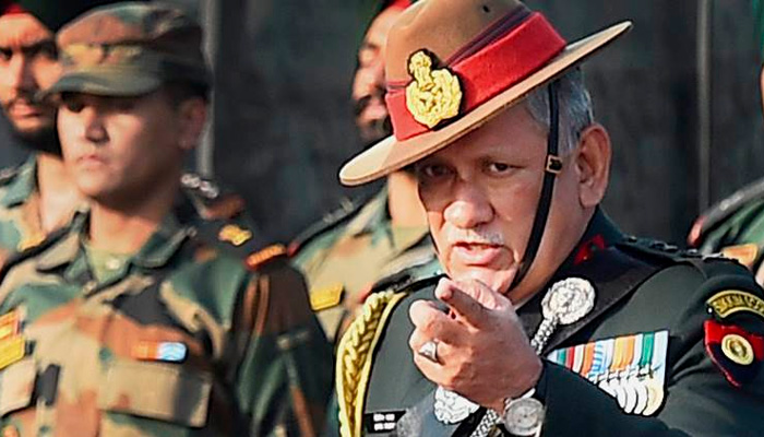 Army Chief : Youth in J&K being instigated by misinformation campaign on social media