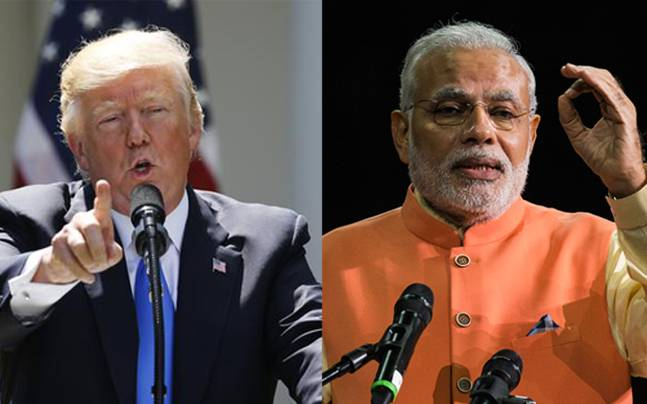 Prime Minister Modi to meet Us President Donald Trump on 26 June.Terrorism and H1 Visa top agenda