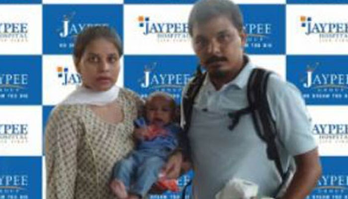 Thanks to Sushma Swaraj, 4-month-old Pakistani child Rohaan arrives in India for treatment