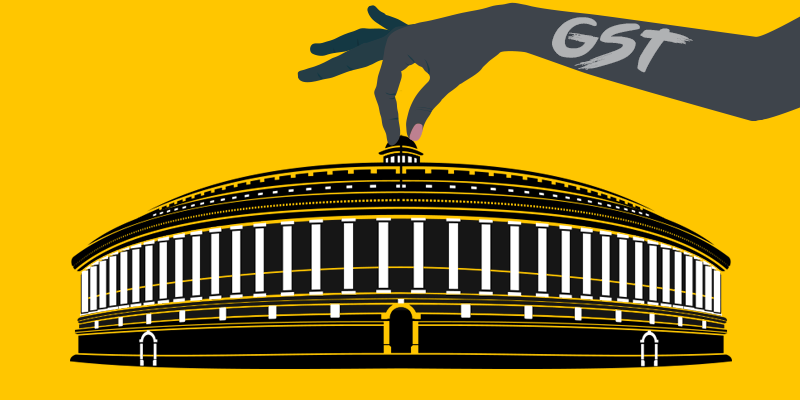GST rollout on June 30 With Special Midnight Session In Parliament.President to disclose India