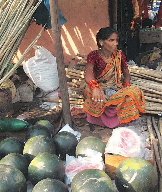 National Kabaddi player Shanti Devi sells vegetables