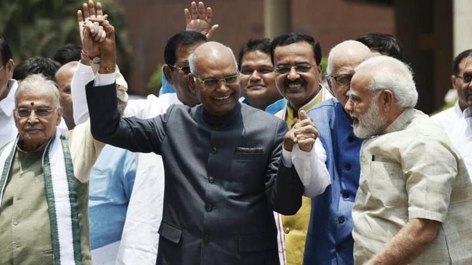 Presidential Election: Ram Nath Kovind files nomination for Presidential election, PM Modi, NDA leaders accompany him