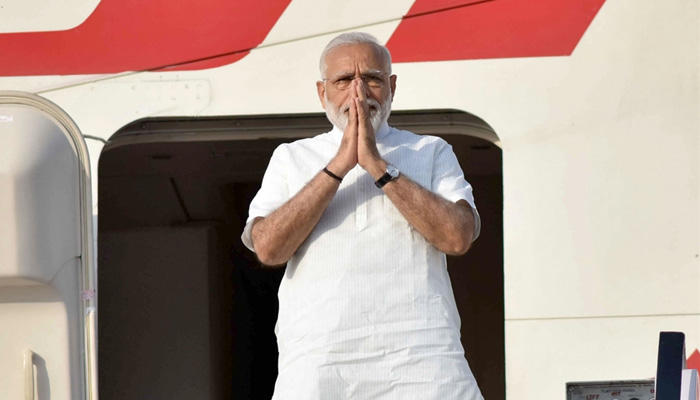 Prime Minister Narendra Modi leaves for 3 nation tour, to be first global leader to have White House dinner with Donald Trump