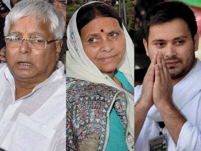 Hotel Tander Scam: CBI files case against former Railway Minister Lalu Yadav, Rabri Devi and son Tejashwi; conducts searches at 12 locations