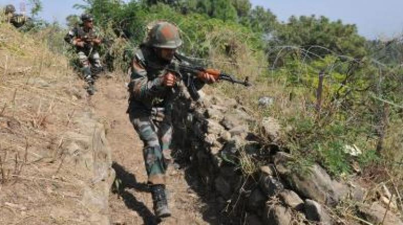 Army jawan, wife killed as Pak ceasefire violation in  LoC Poonch
