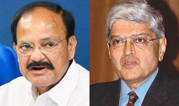 Vice Presidential election: Venkaiah Naidu, Gopalkrishna Gandhi to file nomination today