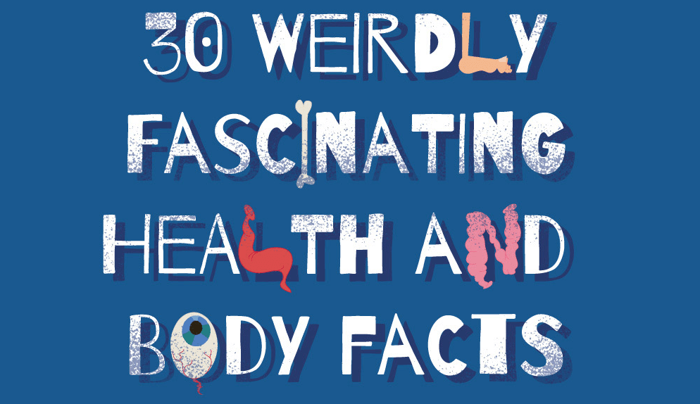 SOME WEIRDLY FASCINATING FACTS