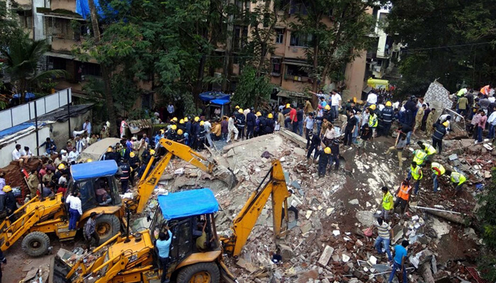 Mumbai: At least 7  dead, 30 feared trapped as four-storeyed building collapses in Ghatkopar