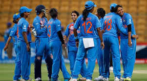 Indian Women's Team Gets A Grand Welcome