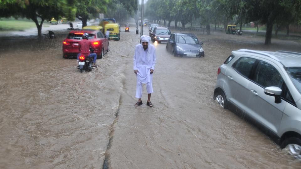 Chandigarh witness highest 24-hour rain in more than decade