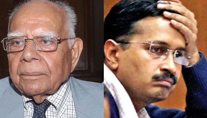 Ram Jethmalani tells Arun Jaitley : Arvind Kejriwal asked me to use abusive words