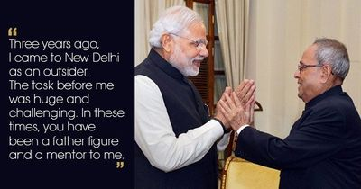This Heartfelt Letter By PM Modi To Former President Pranab Mukherjee