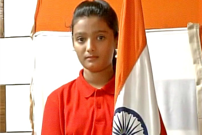 14-year-old Tanzeem Merani vows to unfurl Indian flag at Srinagar