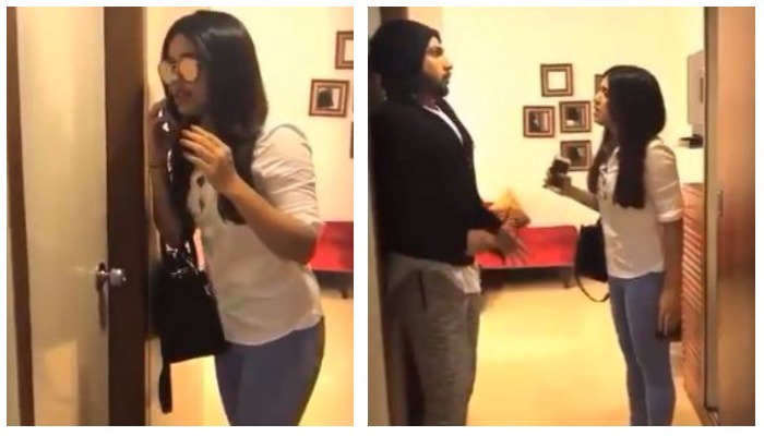 WATCH : Ranveer Singh uses Bhumi Pednekar