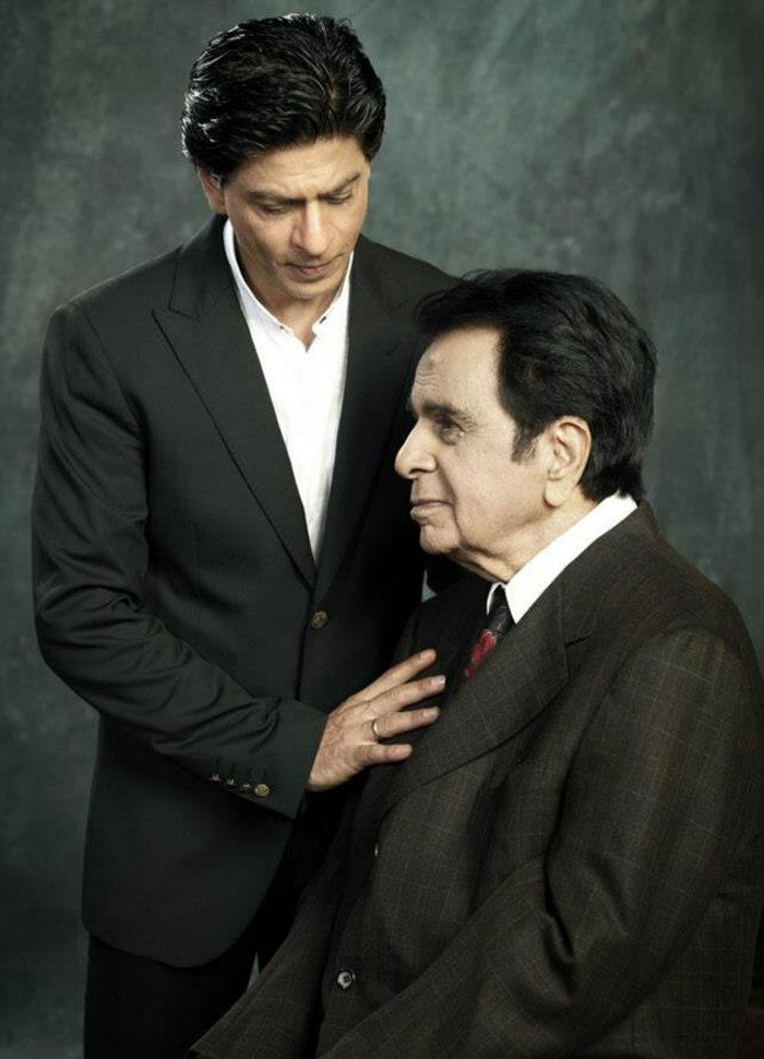 Dilip Kumar and wife Saira Banu posted how they were visited by 'mooh-bola beta' Shah Rukh Khan at home
