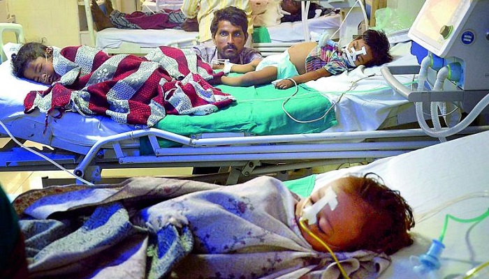 Gorakhpur tragedy: Children died due to oxygen shortage, 2 doctors blamed, reveals DM