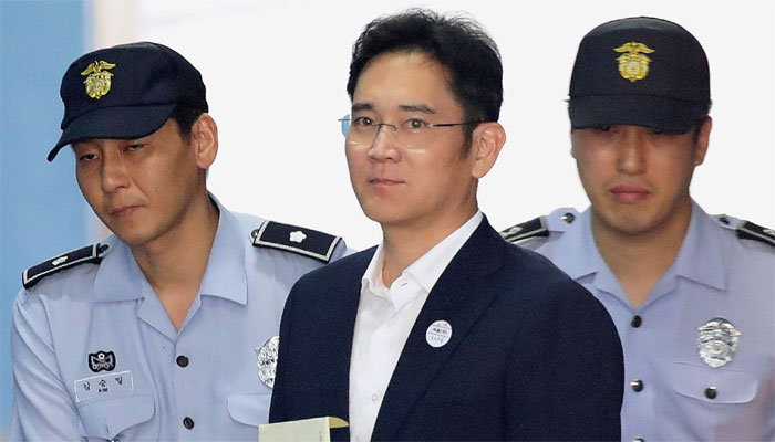 Samsung Heir Jay Y Lee Found Guilty Of bribery scandal; jailed for 5 years