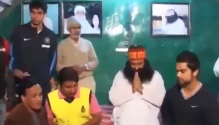 WATCH: When Virat Kohli, Ashish Nehra took Gurmeet Ram Rahim Singh