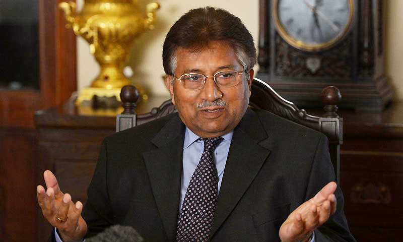 Pervez  Musharraf hints India most wanted Dawood Ibrahim in Karachi, asks