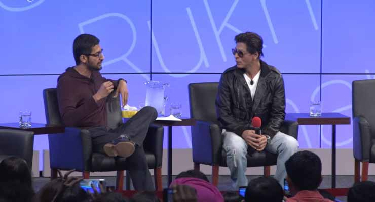 SRK And Sundar Pichai On TED Talks India is must watch
