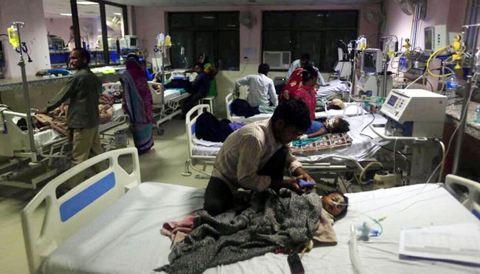 Gorakhpur Tragedy : Gorakhpur hospital