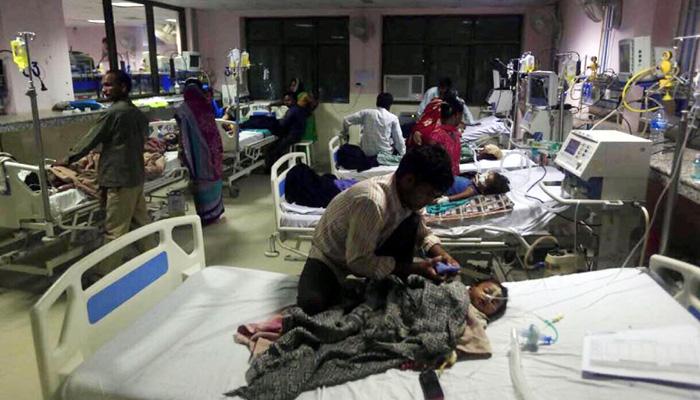 Gorakhpur Tragedy : Gorakhpur hospital