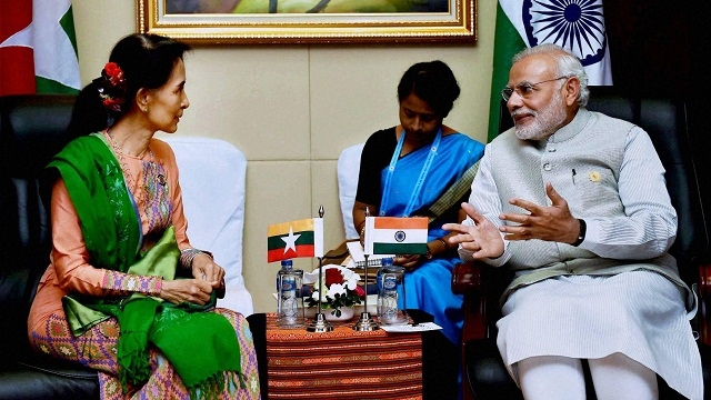 Prime Minister Narendra Modi in Myanmar: A meeting with Suu Kyi and the Rohingya crisis