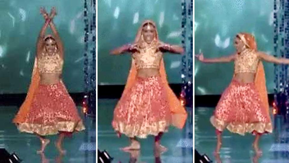 Miss America 2018 runner-up's Bollywood moves win hearts the world over