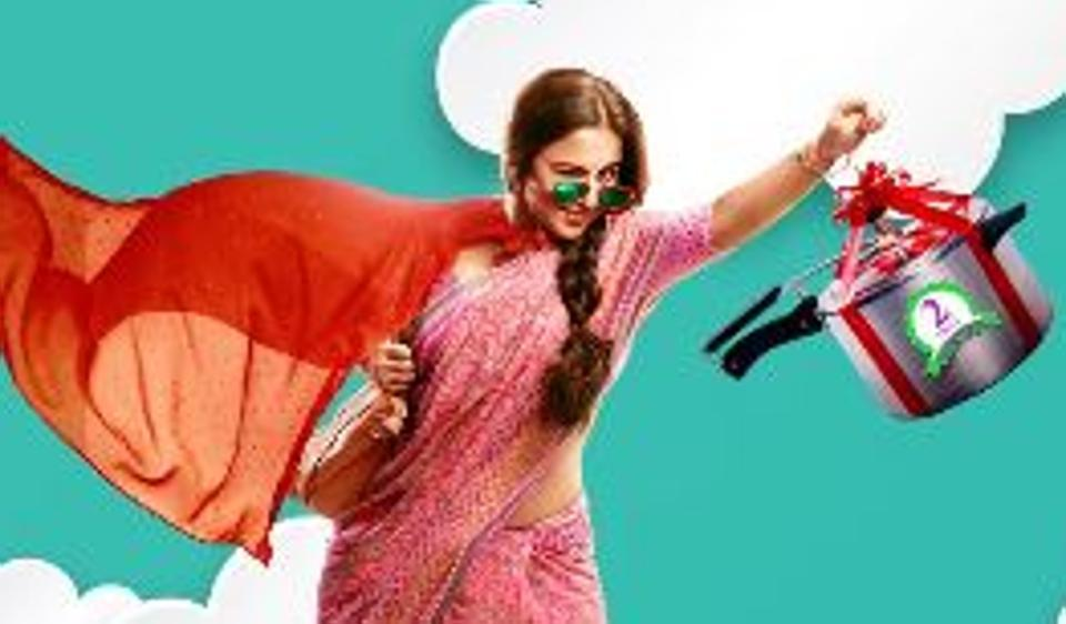 Vidya Balan is a desi superwoman in Tumhari Sulu motion poster