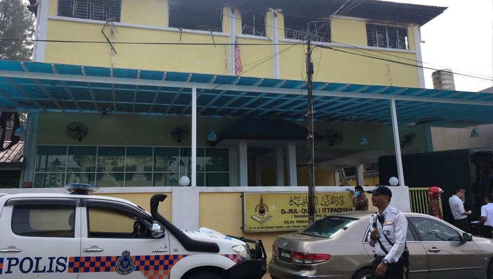 Fire at Malaysia school kills 23 students, two wardens