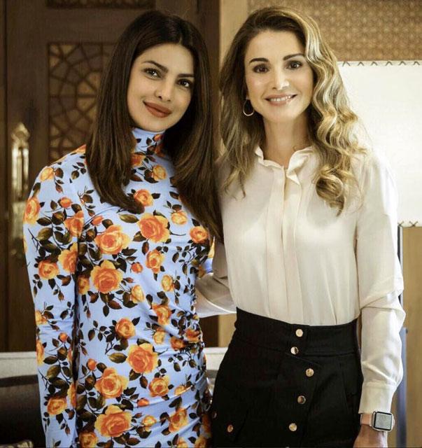 Priyanka Chopra in Zara in Amman