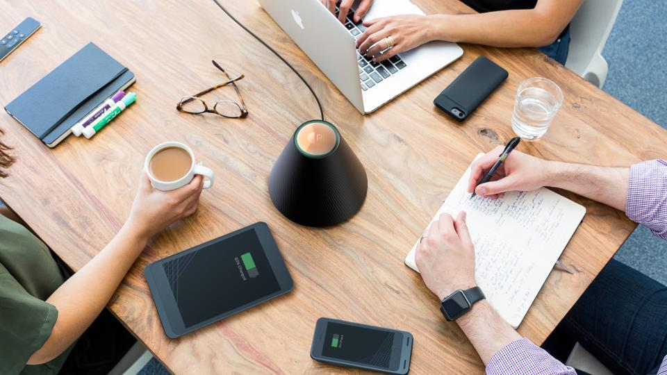 The world's first wireless charger is here. It does away with cords or mats