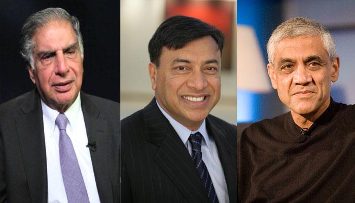 Ratan Tata, Lakshmi Mittal, Vinod Khosla in Forbes 100 Greatest Living Business Minds
