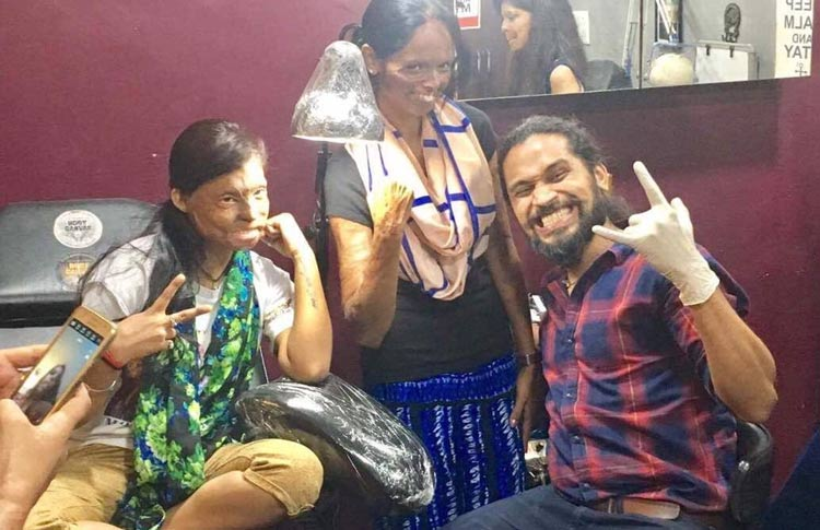 Tattoo Artist Vikas Malani Inks 'Freedom' Into The Lives Of Acid Attack Survivors.