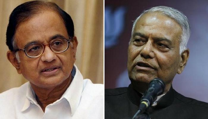 Yashwant Sinha launches attack on PM Modi, Chidambaram says