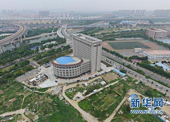 Is this a Chinese university...or a giant 'toilet building'?