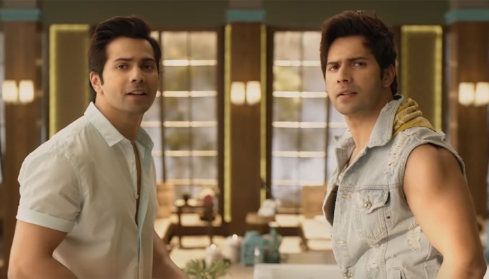Judwaa 2 movie review: Varun Dhawan succumbs to the pressure of expectations.
